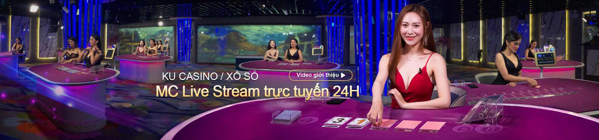 KU Casino MC Livestream 24H