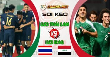 U23 Thái Lan vs U23 Iraq